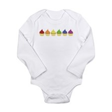 Cupcake Rainbow Body Suit