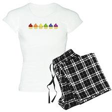 Cupcake Rainbow Pajamas