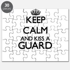 Keep calm and kiss a Guard Puzzle