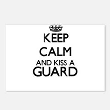 Keep calm and kiss a Guar Postcards (Package of 8)