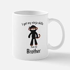 NINJA MONKEY - Get my skills from my Brother Mugs
