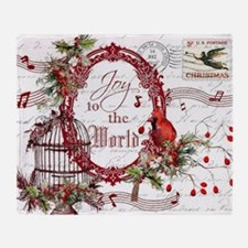 Joy To the World Throw Blanket
