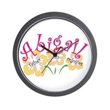 Abigail Wall Clock