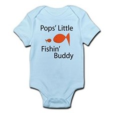 Pops Little Fishin' Buddy Body Suit