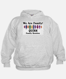QUINN reunion (we are family) Hoodie