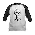 Fight The Power Kids Baseball Jersey