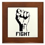 Fight The Power Framed Tile