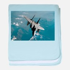 Fighter Jet baby blanket