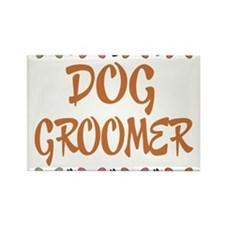 Cute Groomer Rectangle Magnet