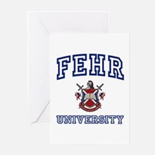 FEHR University Greeting Cards (Pk of 10)