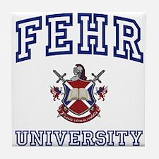 FEHR University Tile Coaster