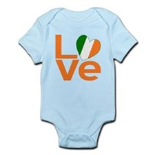 Orange Irish Love Body Suit