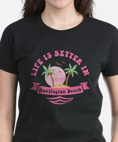 Life's Better In Huntington B Tee