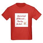 NOW TRY THE BEST Kids Dark T-Shirt