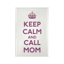 Keep Calm and Call Mom Rectangle Magnet