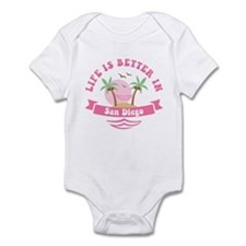Life's Better In San Diego Infant Bodysuit