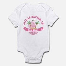 Life's Better In San Diego Onesie