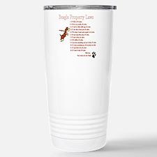 Beagle Property Laws Travel Mug