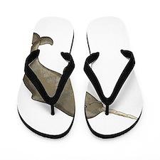 Narwhal Flip Flops