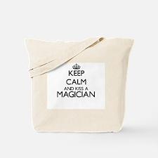 Keep calm and kiss a Magician Tote Bag