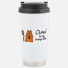Cute Orange Travel Mug