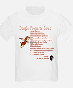 Beagle Property Laws T-Shirt