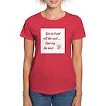 NOW TRY THE BEST Women's Dark T-Shirt
