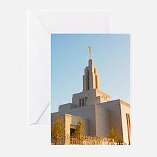 LDS Draper Utah Temple Greeting Cards