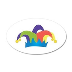 Jester Hat Wall Decal