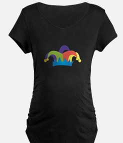 Jester Hat Maternity T-Shirt