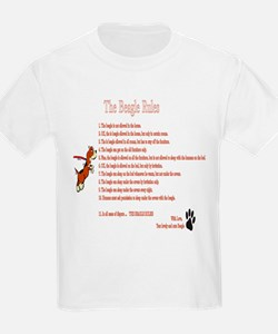 The Beagle Rules T-Shirt