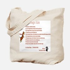 The Beagle Rules Tote Bag