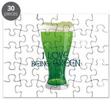 Love Being Green Puzzle