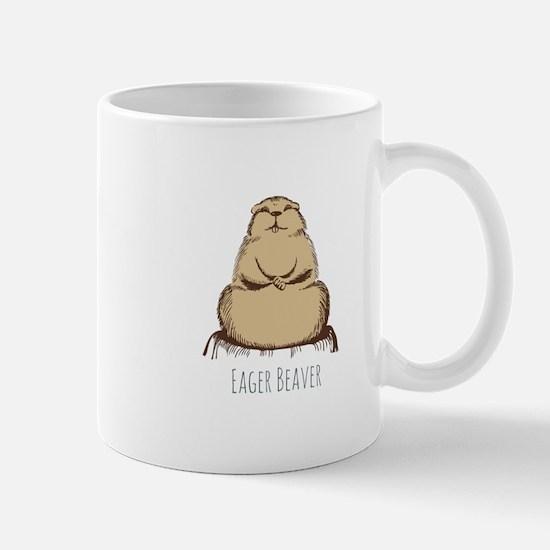 Eager Beaver Mugs