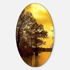Autumn Lake Sunset Decal