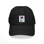 I LOVE DONUTS Black Cap
