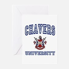CHAVERS University Greeting Cards (Pk of 10)