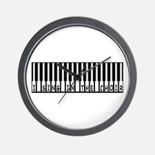 I SING IN THE CHOIR Wall Clock