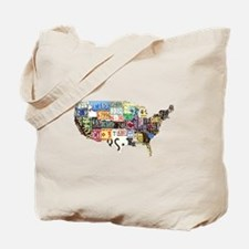 america license Tote Bag