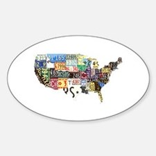 america license Decal