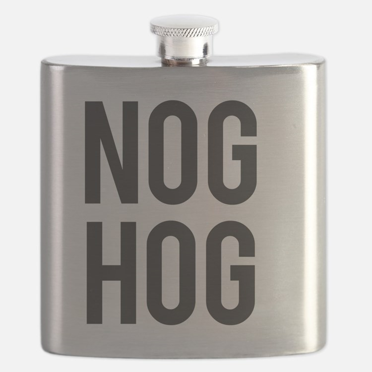Nog Hog Eggnog Flask