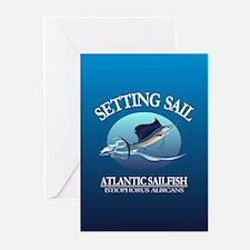 Sailfish Greeting Cards