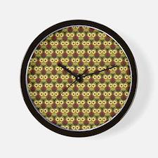 Unique Retro owl Wall Clock
