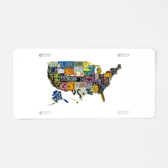 america license Aluminum License Plate
