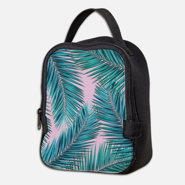 palm tree Neoprene Lunch Bag