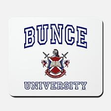 BUNCE University Mousepad