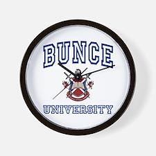 BUNCE University Wall Clock