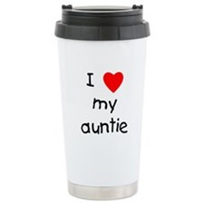 Unique Love my auntie Travel Mug