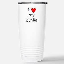 Cute I love my auntie Travel Mug
