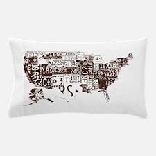 america license Pillow Case